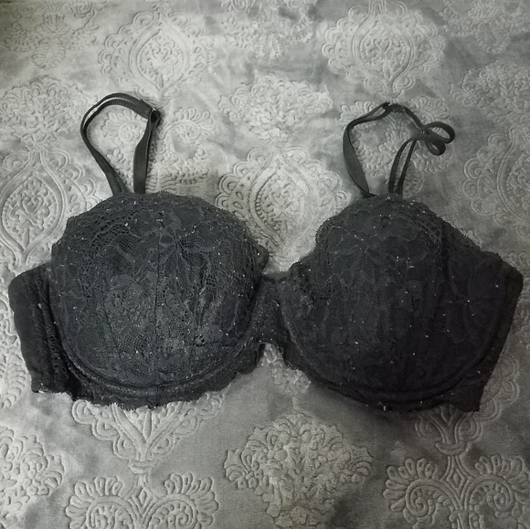 PINK Victoria's Secret Other - VS PINK 36C Black lace date mermaid two strap bra